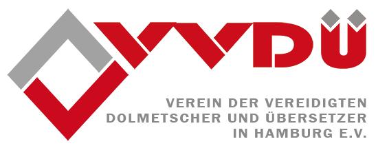 VVDÜ - Verein Vereidigter Dolmetscher und Übersetzer - Logo